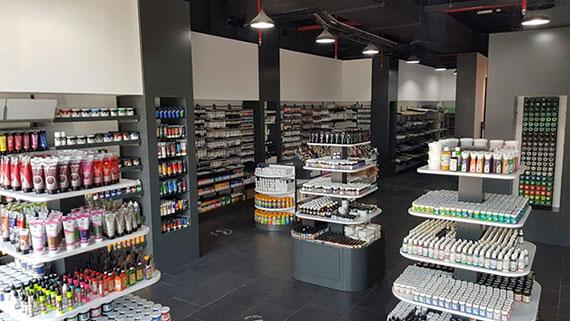 Canvas Art Store Now Open in Oud Metha Dubai
