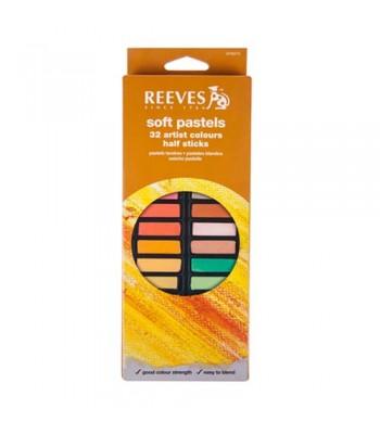 Reeves Soft Pastel Set 32 Color Set