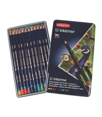 Derwent Tin Inktense Pencils 12