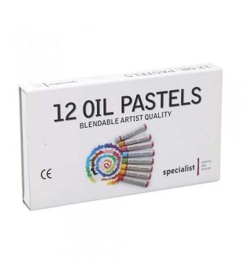 Specialist Oil Pastels Set of 12/24