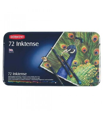 Derwent Tin Inktense Pencils 72