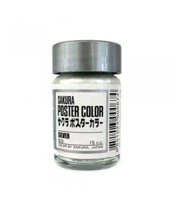 Sakura Poster Color Silver 30ml