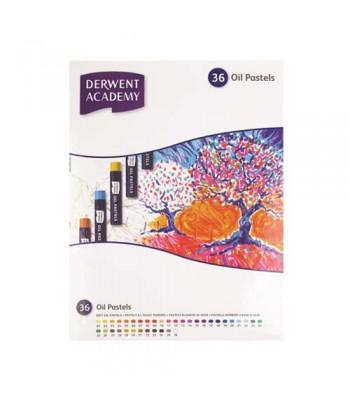 Derwent Academy Oil Pastel 36 0il Pastels