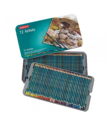 Derwent Tin Artists Pencils 72