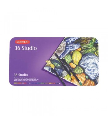 Derwent Tin Studio Pencils 36