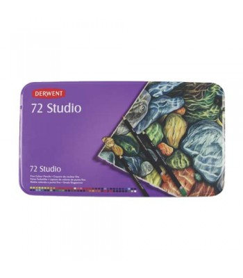 Derwent Tin Studio Pencils 72
