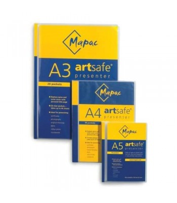 Mapac Artsafe A3 Display Book