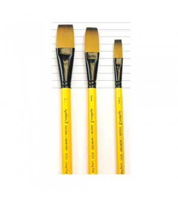 Daler Rowney Long Flat Acrylic Brush