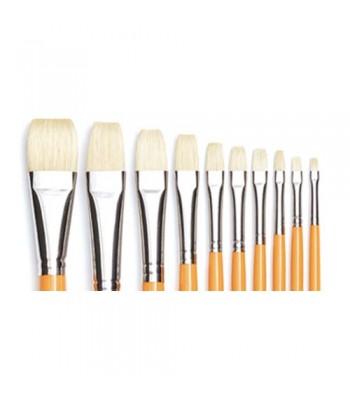 Isabey Bristle Flat 6087 Oil Painting Brush