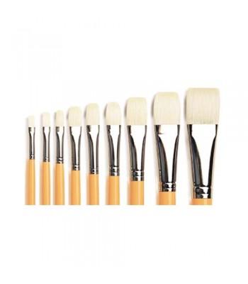 Isabey Bristle Flat Long 6086 Oil Painting Brush