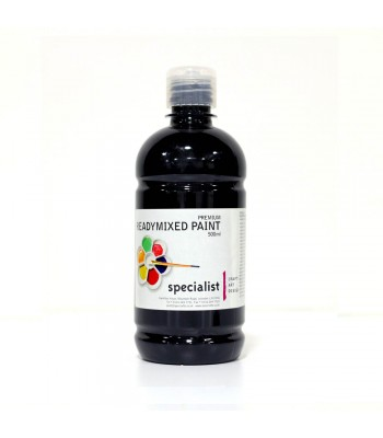 Specialist Readymixed Paint 500ml Black