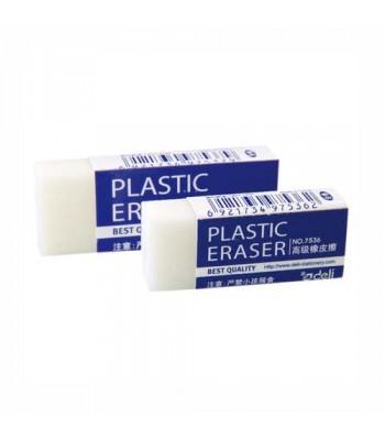 Deli Plastic Eraser DELERAS7537