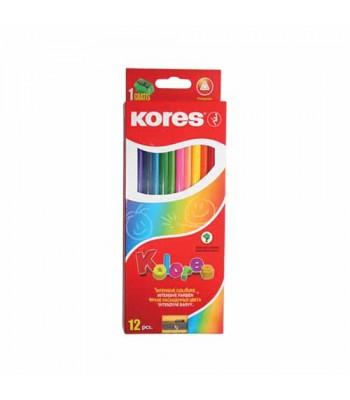 Kores 12 Color Pencil