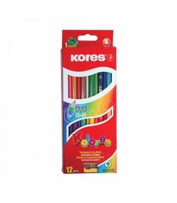 Kores 12 Color Pencil KORPCL93313