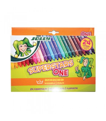 Jolly Superstars One 24 Color Pencil
