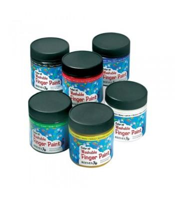 Reeves Finger Paint 237 ml Jars
