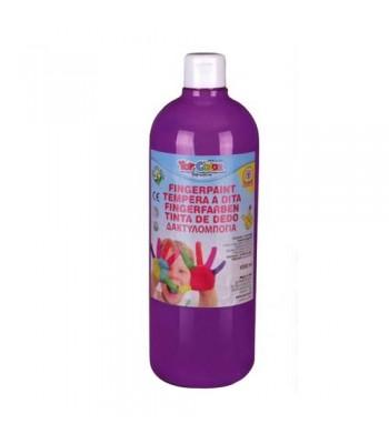 Toy Color Finger Paint Bottle 80ml 6 x 1