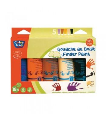 Color & Co Finger Paint Assorted 2