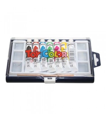 Toy Color Pasuto Gouache Set - Set of 7