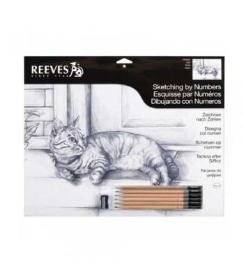 Reeves Sketching By Number