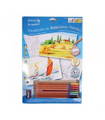 Reeves Water Colour Pencil By Number