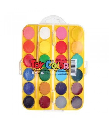 Toy Color Water Color Set 24 PASWC24C7544