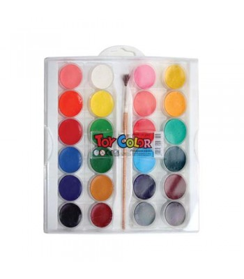 Toy Color Water Color Set 24 PASWC12C702