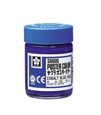 Sakura Poster Color 30ml Cobalt Blue Hue