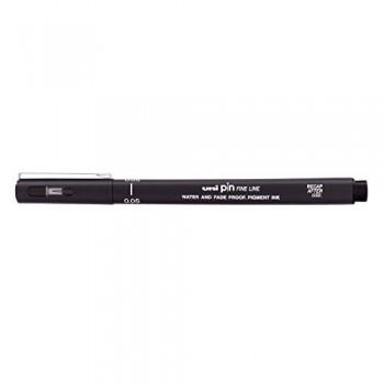 Uniball pin pen fineliner 0.5