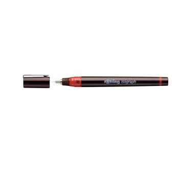 Rotring Isograph pen 0.1/0.13/0.18/0.2/0.25/0.3/0.35/0.4/0.5/0.6/0.7/0.8