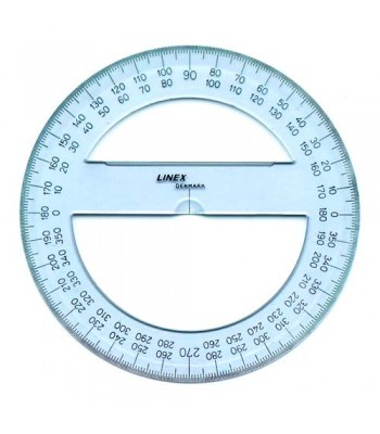Linex Circle Protractors 710/715/720/725