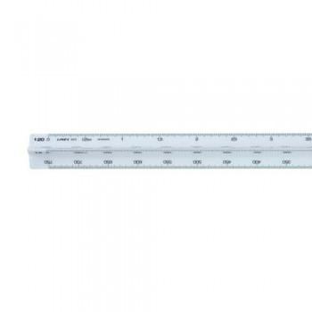 Linex Triangular Ruler Silver/grey 371/372