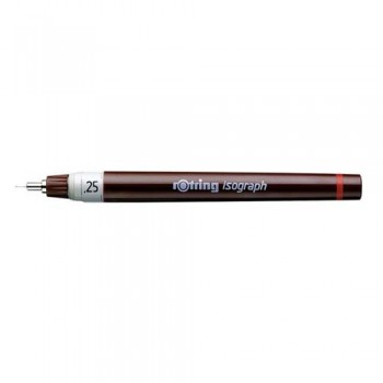 Rotring Isograph pen 0.25