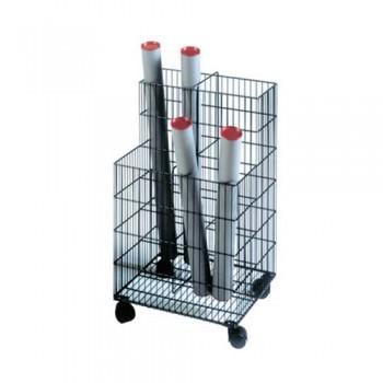 Alfiroll Mobile Wire Trolley on Castors 1
