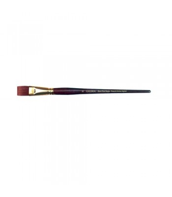 Winsor & Newton Galeria Acrylic Brush - Short Flat/Bright Long Handle