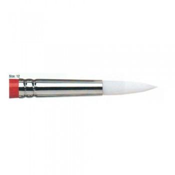 Winsor & Newton University Acrylic Brush - Round Short Handle 12