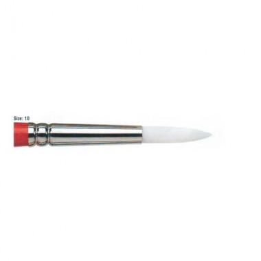 Winsor & Newton University Acrylic Brush - Round Short Handle 10