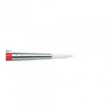 Winsor & Newton University Acrylic Brush - Round Short Handle 07