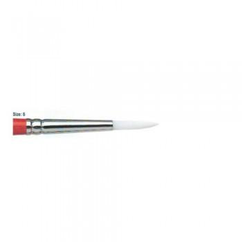 Winsor & Newton University Acrylic Brush - Round Short Handle 06