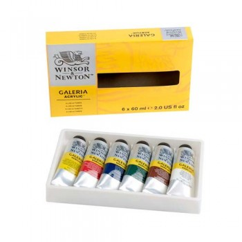 Winsor & Newton Galeria Acrylic Colour Set WIN 2190516