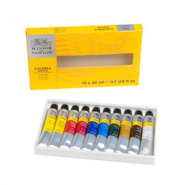 Winsor & Newton Galeria Acrylic Colour Set WIN2190525