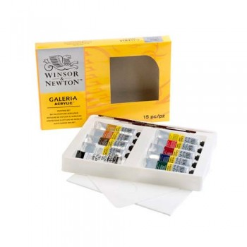 Winsor & Newton Galeria Acrylic Colour Set WIN 2190518