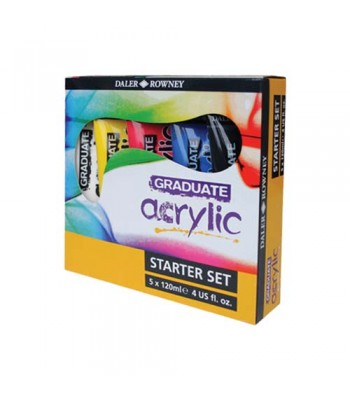 Daler Rowney Gradute Acrylic Color Set DAL 123 900 100