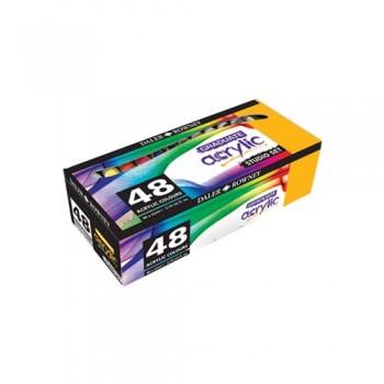 Daler Rowney Gradute Acrylic Color Set DAL 123 900 048