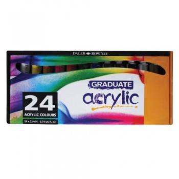 Daler Rowney Gradute Acrylic Color Set DAL 123 900 024