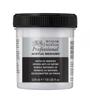 Winsor & Newton Acrylic Mediums - SATIN UV VARNISH