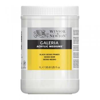 Winsor & Newton Acrylic Mediums Black Gesso Primer