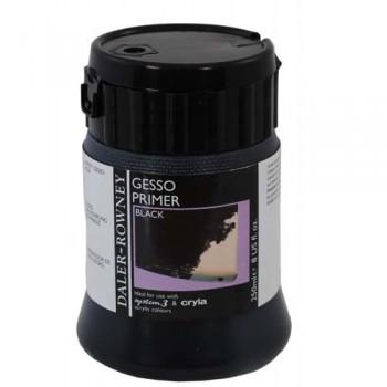 Daler Rowney Acrylic Mediums Gesso Primer Black