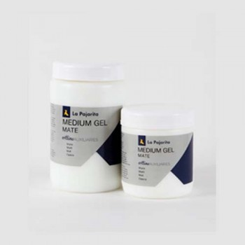 Lapajarita Acrylic Mediums - MEDIUM GET/ MATT MEDIUM GEL