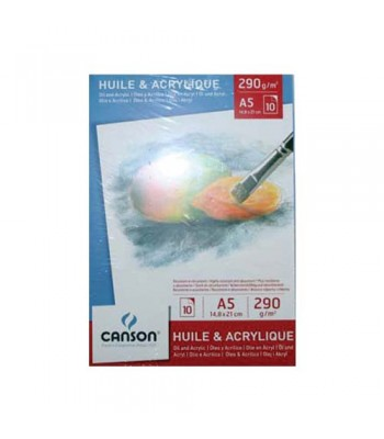 CANSON OIL ACRYLIC PADS Csn 5785